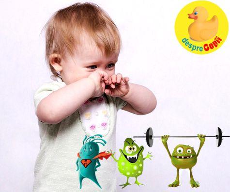 Infectiile tractului respirator la copil si rolul probioticelor in cresterea imunitatii