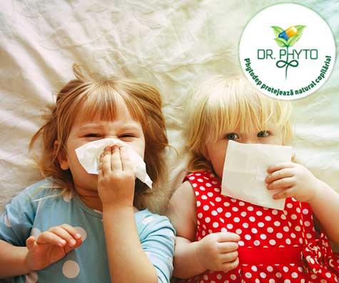 Cum se manifesta infectiile respiratorii la copiii mici si cum le tratam?
