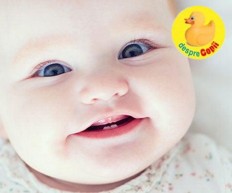 Iata cum ingrijim dintisorii bebelusului - 10 sfaturi utile pentru parinti