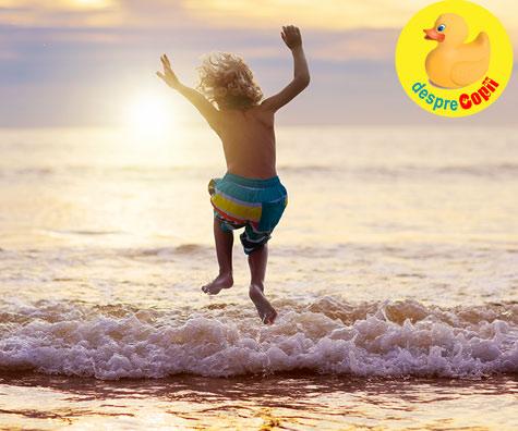 Inotul in mare: sfaturi pentru siguranta copilului