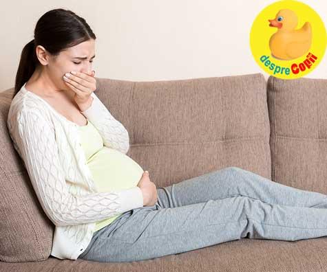 Nivel de stres maxim: cand te imbolnavesti in pandemie si esti gravida - jurnal de sarcina