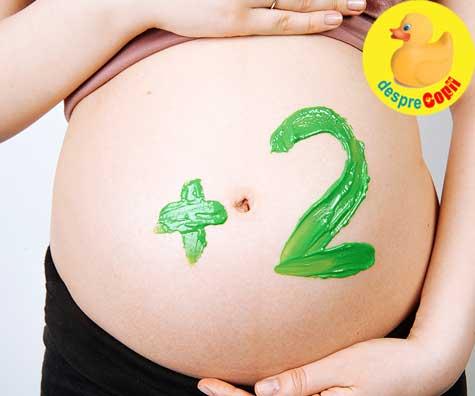 Primele miscari ale bebelusilor mei gemeni - jurnal de sarcina