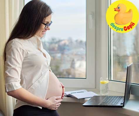 Intoarcerea la servici la 17 saptamani de sarcina - jurnal de sarcina