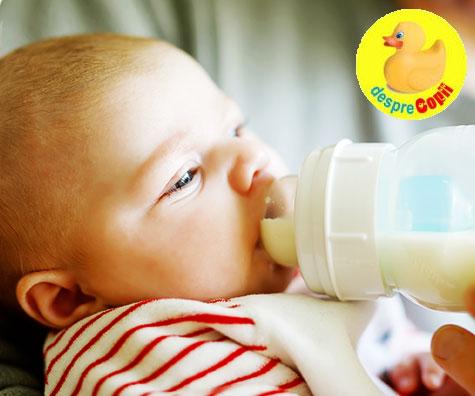 Intarcarea bebelusului: cum si cand