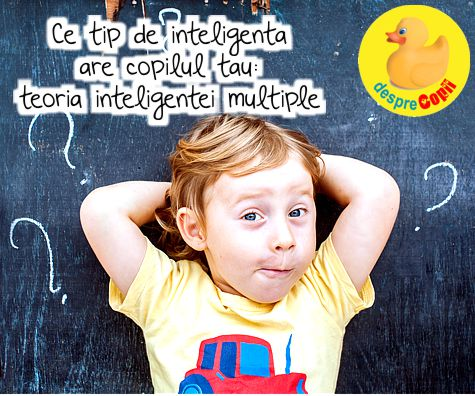 Ce tip de inteligență are copilul tău: teoria inteligenței multiple