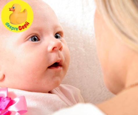Intrebarile existentiale ale unui bebelus. Cele 9 intrebari pe care si le pune in primul an de viata