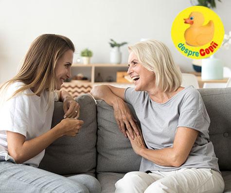 10 intrebari pe care ai putea sa adresezi mamei tale