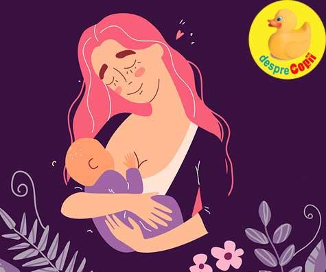Mami invata despre alaptare - jurnal de sarcina