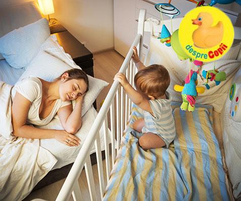 Bebelusii care nu dorm bine sunt super inteligenti