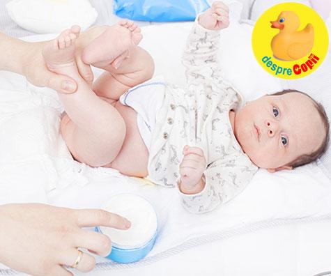 Cum tratam iritatia de scutec a bebelusului cu ulei de cocos