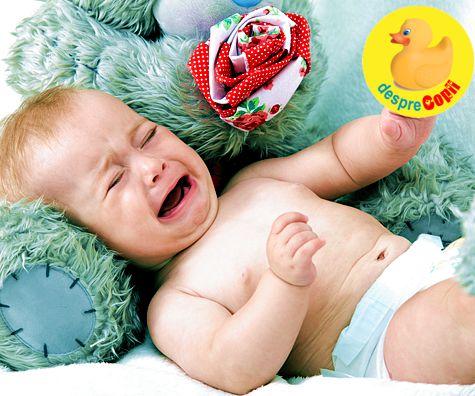Iritatia de scutec a bebelusului: cauze si tratament