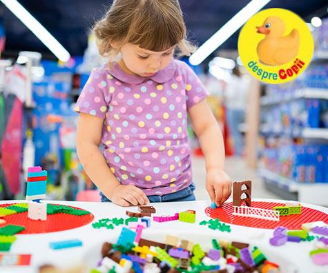 Jocul cu cuburi si lego dezvolta intelectul copiilor