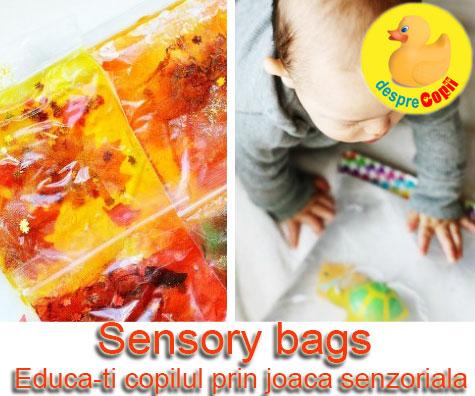 Sensory bags – educa-ti copilul prin joaca senzoriala