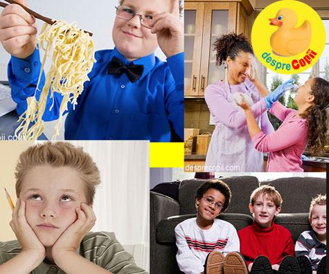 25 de jocuri și activităti pentru copii - in interior