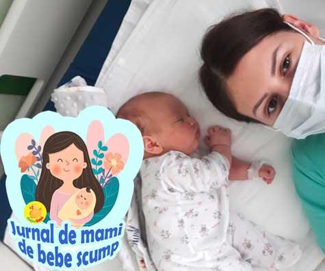 Am trait socul vietii de frica. Bebe s-a inecat cu lapte matern si nu mai respira - jurnal de mami de bebe