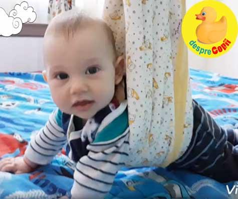 Activitati distractive cu un bebe de 5 luni -  jurnal de mami de bebe scump