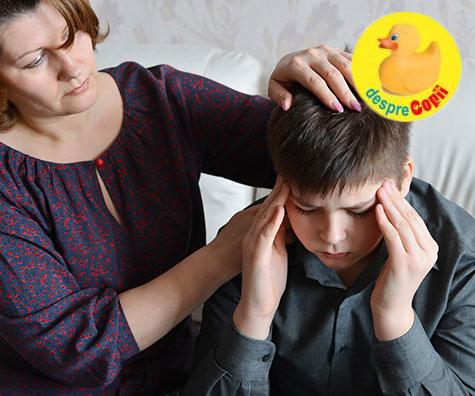 Jurnalul durerii la copii, o metodă de identificare a durerii