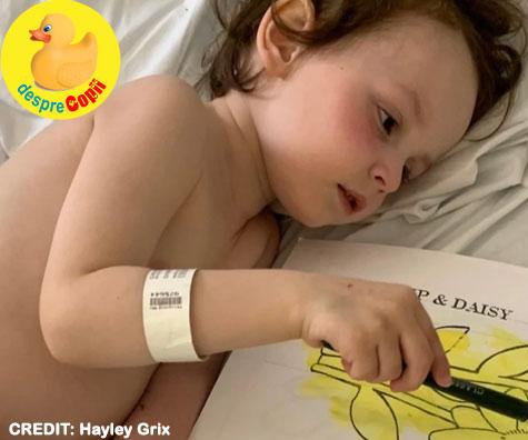 Fiul meu a stat 10 zile în spital cu Boala Kawasaki, boala fiind legată de Covid-19