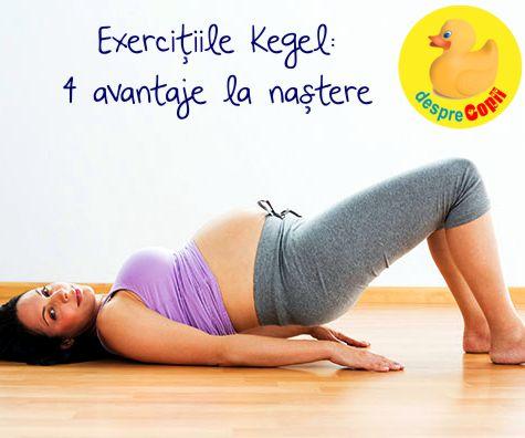 Exercitiile Kegel: 4 avantaje la nastere