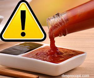 E-urile din produsele tip Ketchup comercializate in Romania
