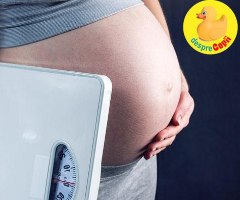Esti insarcinata? Numarul de kilograme plus iti poate spune daca va fi baietel sau fetita