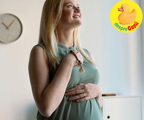 La Slujba de Duminica cu burtica - jurnal de sarcina