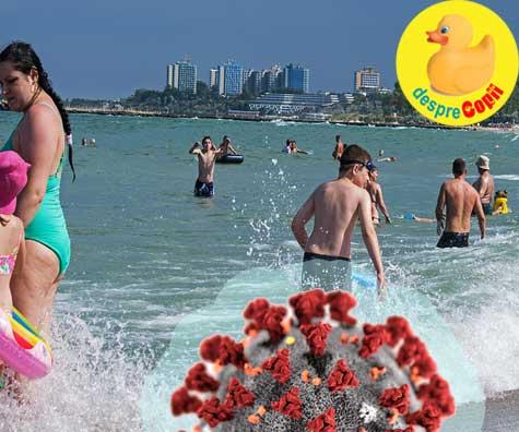 Este OK sa mergem la plaja in pandemie de coronavirus?