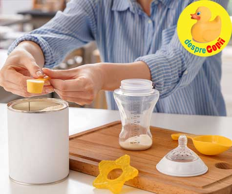 Putem depozita laptele formula deja preparat la frigider? Dar cel ramas de la o hranire?