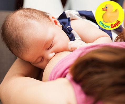 Cum se poate imbunatati calitatea si cantitatea laptelui matern