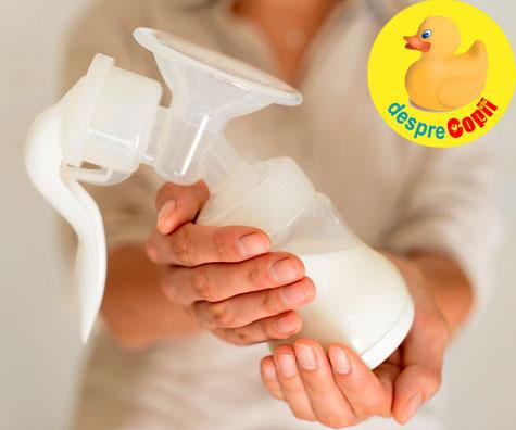 Laptele matern poate avea anticorpii necesari pentru a trata COVID-19