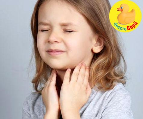 Laringita la copil: simptome, complicatii si tratament - sfatul medicului