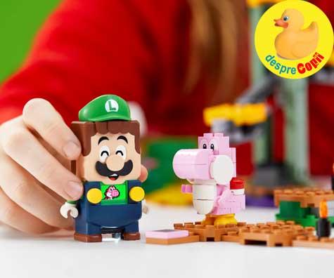 Grupul LEGO ii aduce impreună pe Mario si Luigi in noul set LEGO® Super Mario™ - Aventurile lui Luigi