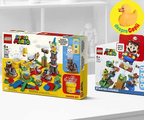 Grupul LEGO si Nintendo construiesc impreuna universul LEGO® Super Mario™, pentru si mai multe aventuri personalizate