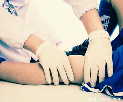 Leziunile ligamentelor incrucisate anterior la copii si adolescenti