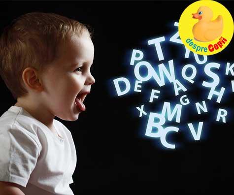 Dezvoltarea vorbirii la copil: evolutia normala a limbajului si semne de alarma