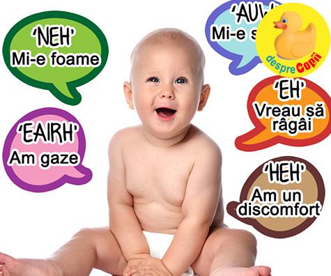 Cele 5 sunete universale ale bebelusilor - iata cum le poti descifra