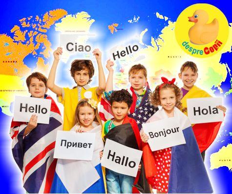 Copiii si limbile straine: atitudine si necesitate actuala