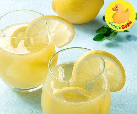 Limonada cremoasa - Reteta virala pe TikTok