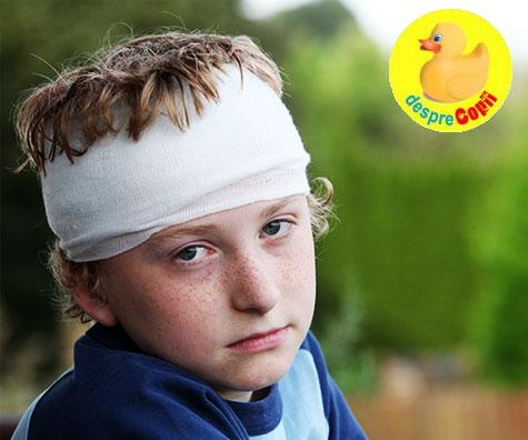 Cand copilul s-a lovit la cap: 11 lucruri pe care fiecare parinte trebuie sa le stie
