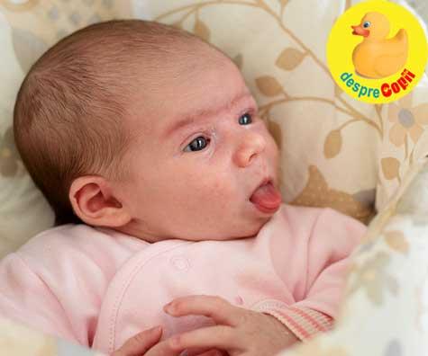 10 lucruri ciudate dar total normale despre bebelusul nou-nascut