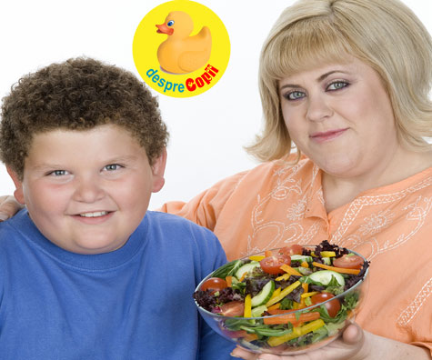 Multe mame neaga sau ignora problemele de greutate ale copilului lor