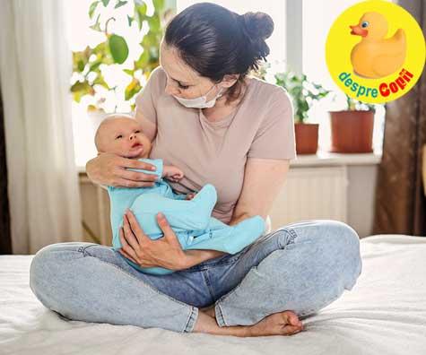 La Sibiu, peste 40 de gravide infectate cu COVID-19 au nascut bebelusi care nu erau infectati