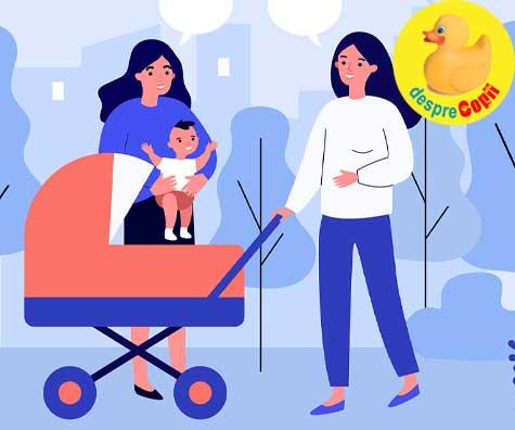 Mamicile de bebelusi si capcanele comparatiilor cu alti bebelusi 🥺 sfaturi pentru evitarea unui stres inutil