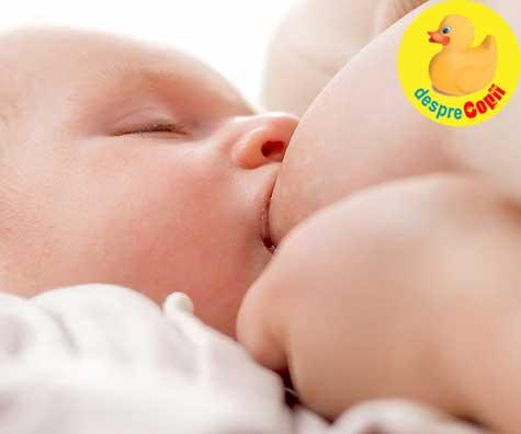 Mameloane ombilicate: sfaturi pentru alaptarea bebelusului