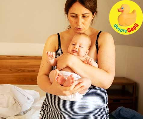 Greselile mamicilor dupa nașterea bebelusului: Fii o egoista inteleapta