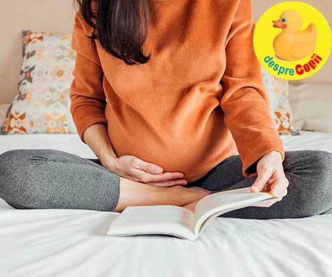 Mami se documenteaza mult in sarcina - jurnal de sarcina