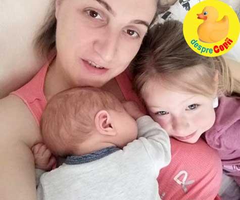 Cum fac sa ma impart la doi copii fara ca cel mare sa sufere - jurnal de mamica