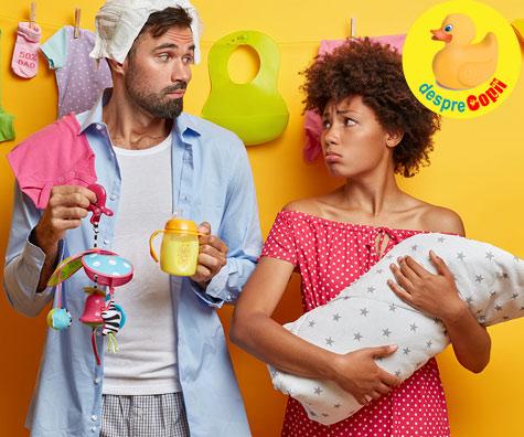 Hei tati de bebe - iata 5 lucruri pe care o proaspata mamica vrea sa le auda de la tine