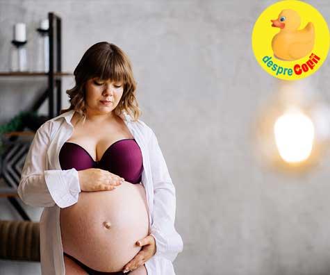 Cate ceva despre gravidutele cu greutate - jurnal de sarcina