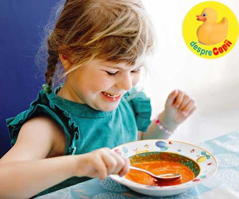 Cum sa fii un model pentru copilul tau cand e vorba de alegeri alimentare